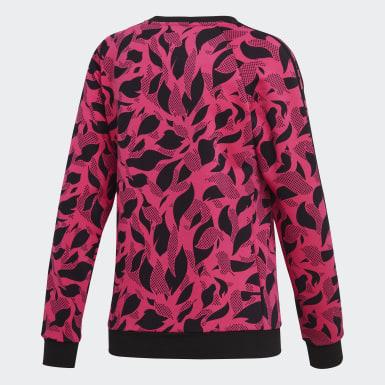 Women Training Pink Essentials Sweater