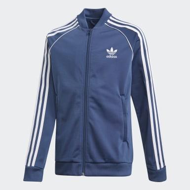 Děti Originals modrá Sportovní bunda SST