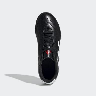 Calzado de Fútbol Goletto VII Césped Artificial Negro Niño Fútbol