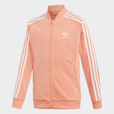 Youth Originals Orange SST Track Jacket