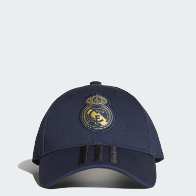 Voetbal Blauw Real Madrid 3-Stripes Pet