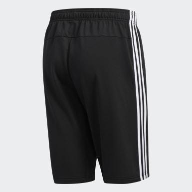 Men's Essentials Black Essentials 3-Stripes Shorts