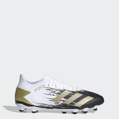 Men Football White Predator Mutator 20.3 Low Multi-Ground Boots