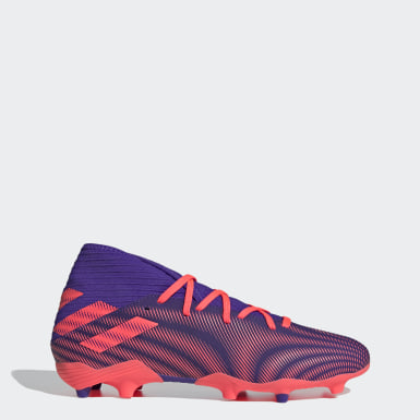 Men Football Purple Nemeziz .3 Firm Ground Boots