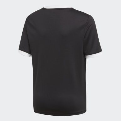 Børn Træning Sort Tiro T-shirt
