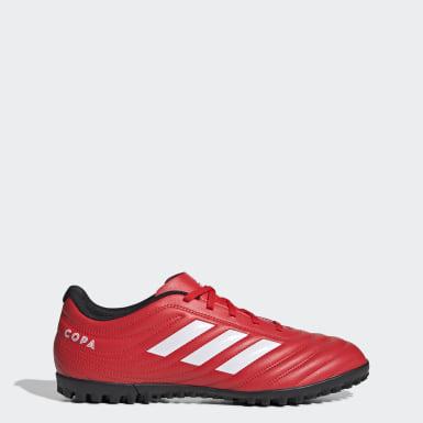 красный Футбольные бутсы Copa 20.4 TF