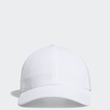 Women Golf White Crestable Heathered Hat