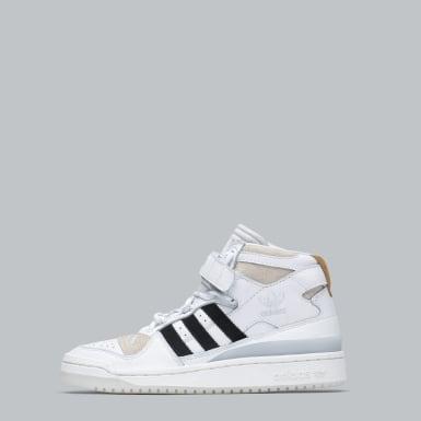 Originals Beyaz Forum Mid Ayakkabı