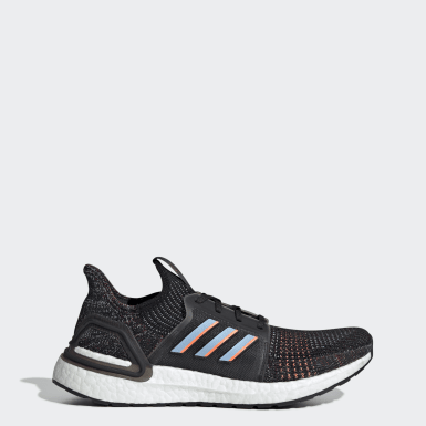 Men Running Black Ultraboost 19 Shoes