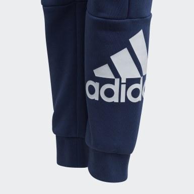Pantaloni  Must Haves Blu Ragazzo Training