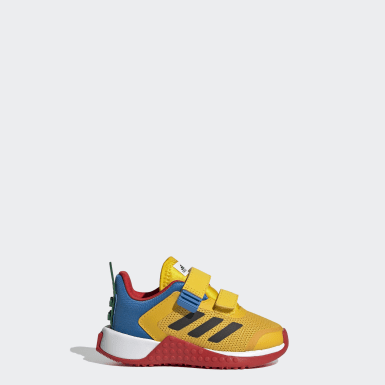 Chaussure adidas x LEGO® Sport jaune Bambins & Bebes Course