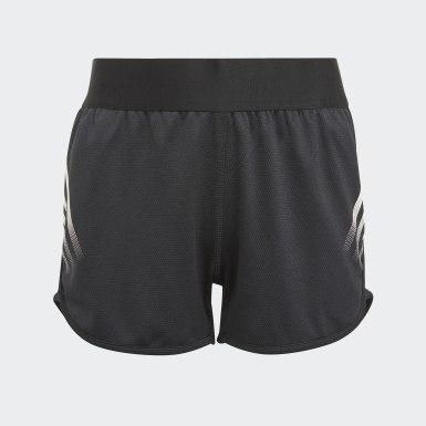 Girls Träning Svart AEROREADY 3-Stripes Shorts