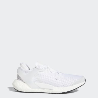 Men Running White Alphatorsion Boost Shoes