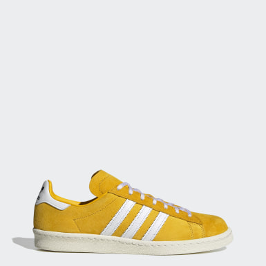 Men's Originals Yellow Campus 80s Shoes