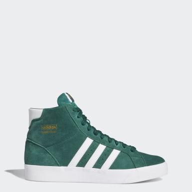 зеленый Высокие кроссовки Basket Profi