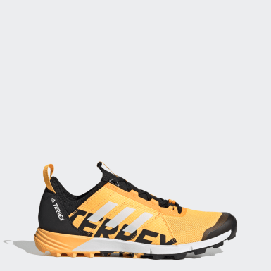 Men TERREX Gold Terrex Speed Trail Running Shoes