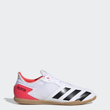 Mænd Fodbold Hvid Predator 20.4 Sala indendørsstøvler