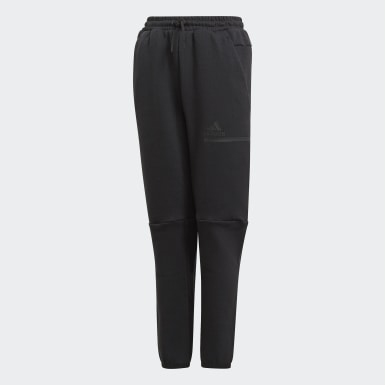 Youth 8-16 Years Athletics Black Z.N.E. Tracksuit Bottoms