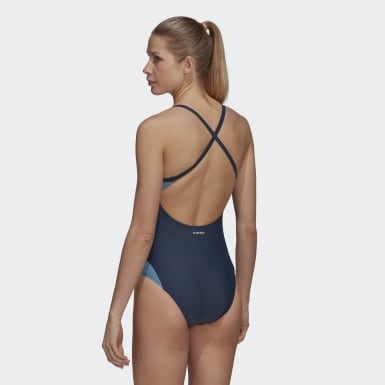 SH3.RO Shape Swimsuit Niebieski