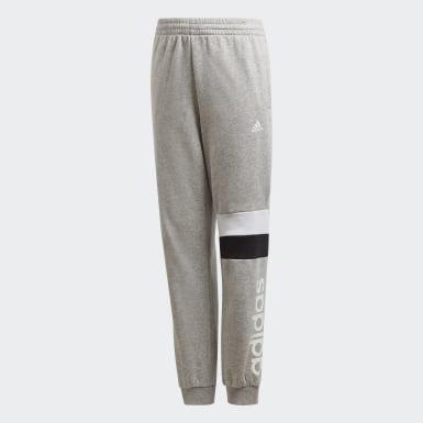 Pantalon Linear Colorblock gris Adolescents Entraînement