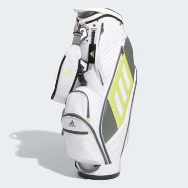 Men Golf White Tour Caddie Bag