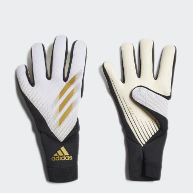 белый Вратарские перчатки X 20 League