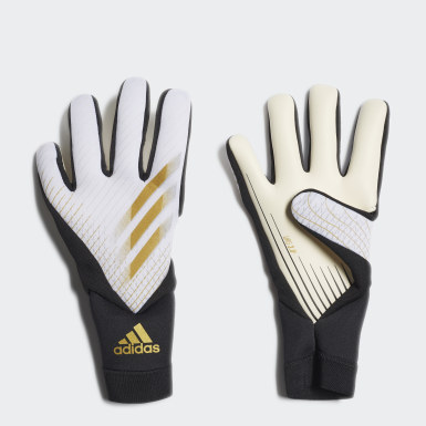 Football White X 20 League Gloves