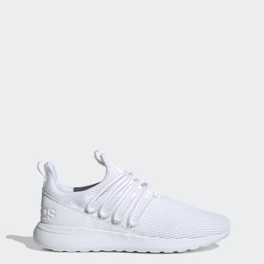 Men's Essentials White Lite Racer Adapt 3.0 Shoes