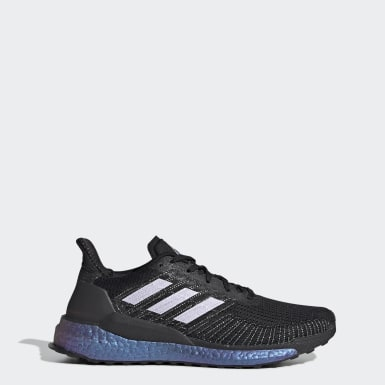 Women's Running Black Solarboost 19 Shoes