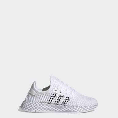 Youth 8-16 Years Originals White Deerupt Runner Shoes