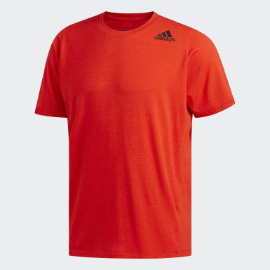 Men Yoga Red FreeLift Sport Prime Lite Tee