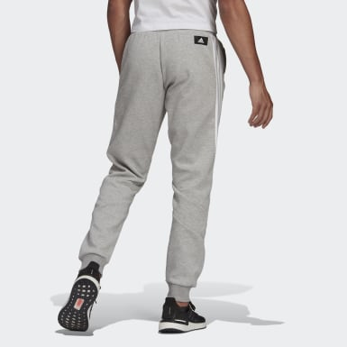 Men Athletics Grey adidas Sportswear 3-Stripes Sweat Pants