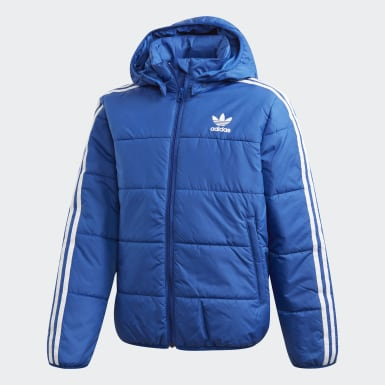 Kids Originals Blue Padded Jacket