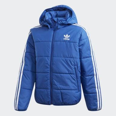 Børn Originals Blå Padded jakke