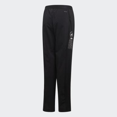 Pants Slim Negro Niño Training