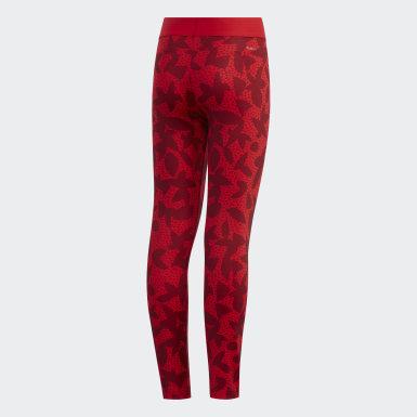 Calzas XPR Rojo Niño Yoga
