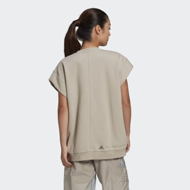 Polera Muscle Beige Mujer adidas by Stella McCartney