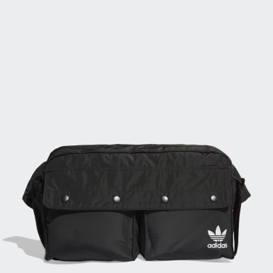 Women Originals Black Funny Bum Bag Large