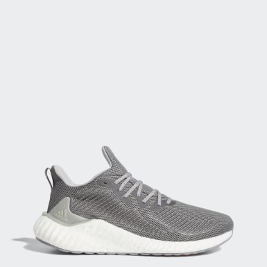 Sapatos Alphaboost Cinzento Homem Running