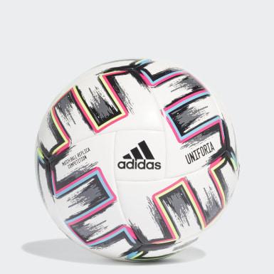 ผู้ชาย ฟุตบอล สีขาว ลูกฟุตบอลสำหรับแข่งขัน Uniforia