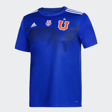 Camiseta U. de Chile adidas 70 años Niño Azul Niño Fútbol