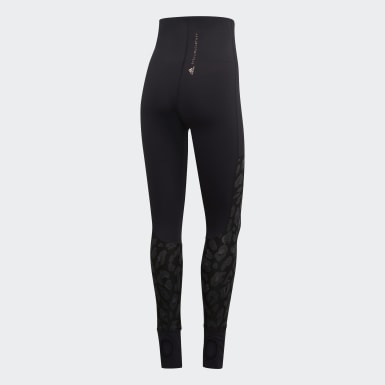 Dames adidas by Stella McCartney zwart TRUESTRENGTH Yogalegging