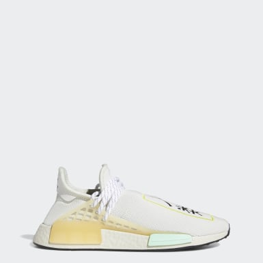 Men Originals White Hu NMD Shoes