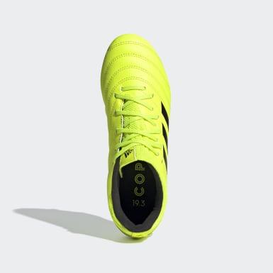 Chaussure Copa 19.3 Terrain souple Jaune Enfants Football