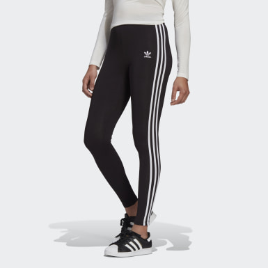 Women Originals Black Adicolor Classics 3-Stripes Leggings