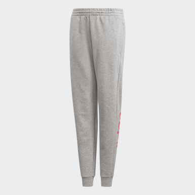 Kids Athletics Grey Linear Joggers