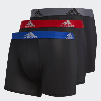 Men's Training Black Climalite Trunks 3 Pairs