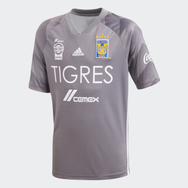 Jersey Tigres UANL Tercer Uniforme Gris Niño Fútbol
