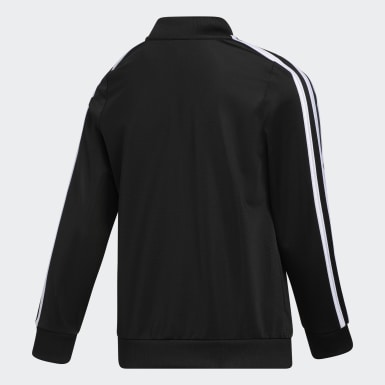 Youth Training Black Tricot Bomber Jacket