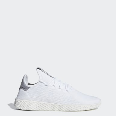 Scarpe Pharrell Williams Tennis Hu Bianco Donna Originals